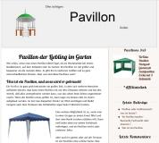 Den richtigen Pavillon finden